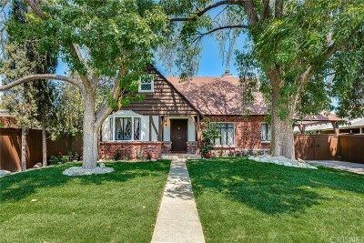 North Hollywood Single Family Home For Sale: 5714 Riverton Avenue