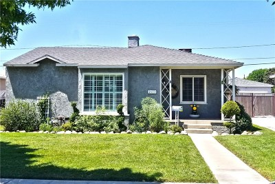 Burbank Single Family Home For Sale: 2133 North Manning Street