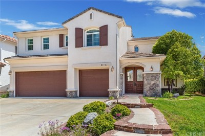 Stevenson Ranch Single Family Home For Sale: 25736 Wallace Place