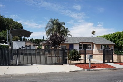 North Hills Single Family Home For Sale: 16267 Community Street