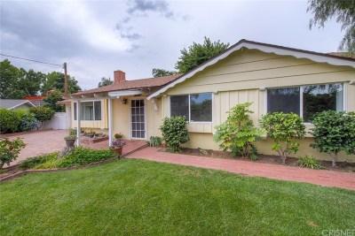 Castaic Single Family Home Active Under Contract: 27824 Ferguson Drive