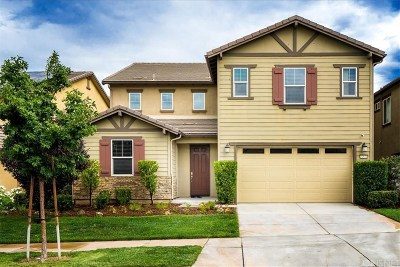 Saugus Single Family Home Active Under Contract: 22521 Breakwater Way