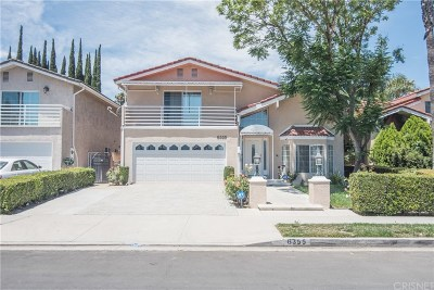 Tarzana Single Family Home For Sale: 6355 Yolanda Avenue