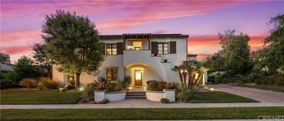 Calabasas Single Family Home For Sale: 25325 Prado De Los Gansos