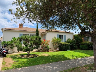 Santa Monica Single Family Home For Sale: 1901 Euclid Street