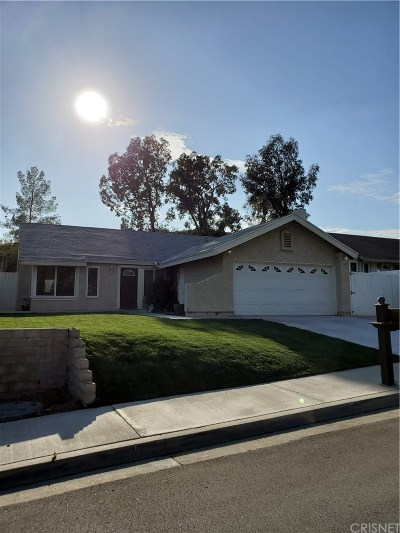 Los Angeles County Single Family Home Active Under Contract: 27763 Sequoia Glen Drive