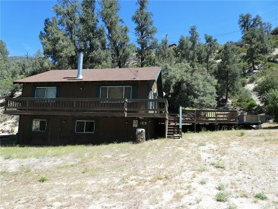 Pine Mountain Club CA Single Family Home For Sale: $210,000
