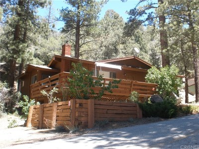 Pine Mountain Club CA Single Family Home For Sale: $192,000