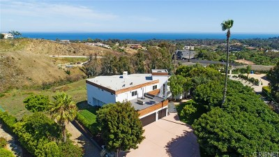 Malibu Single Family Home For Sale: 6272 Cavalleri Road