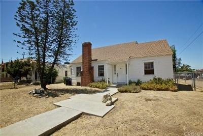 San Fernando Single Family Home For Sale: 11829 Glenoaks Boulevard