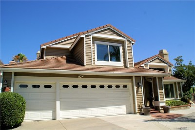 Newhall Single Family Home Active Under Contract: 24516 Thistle Court