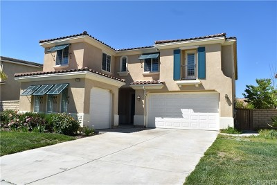 Canyon Country Single Family Home For Sale: 17479 Honey Maple Street