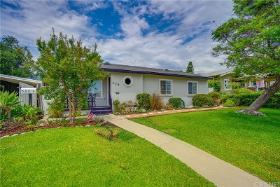 Monrovia Single Family Home For Sale: 529 East Foothill Boulevard
