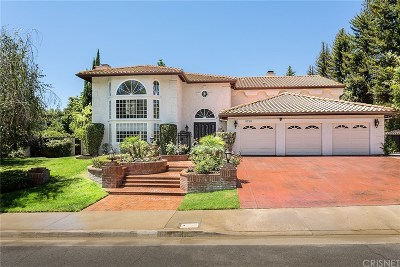 Agoura Hills Single Family Home For Sale: 5725 Grey Rock Road
