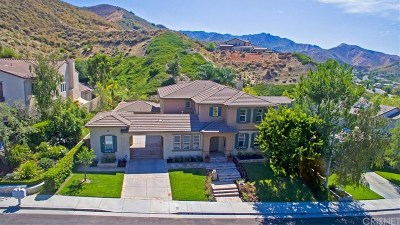 Stevenson Ranch Single Family Home For Sale: 25540 Morning Mist Drive