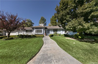 Acton Single Family Home For Sale: 2545 Palomino Drive