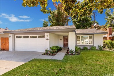 Los Angeles County Single Family Home Active Under Contract: 27425 Sycamore Creek Drive