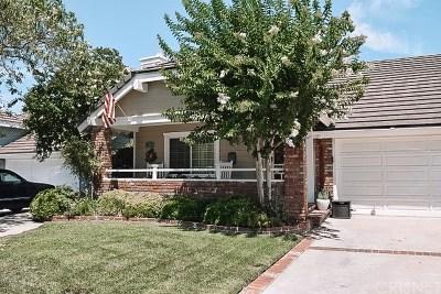 Valencia Single Family Home For Sale: 25816 Mendoza Drive