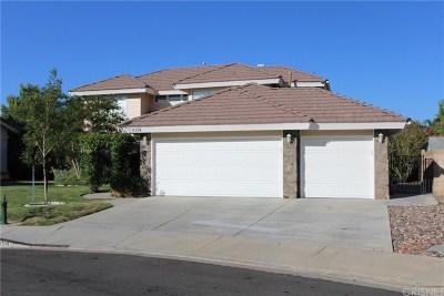 Quartz Hill Single Family Home Active Under Contract: 6104 Cabriolet Court