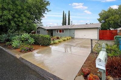 Thousand Oaks Single Family Home For Sale: 981 Calle Ciruelo