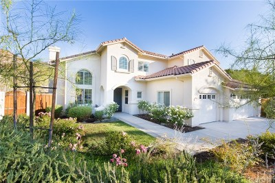 Newhall Single Family Home For Sale: 25146 Running Horse Road