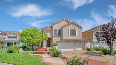 Newhall Single Family Home For Sale: 23453 Cloverdale Court