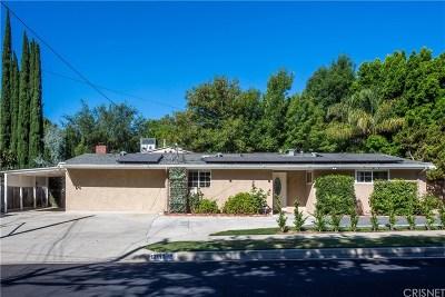 Granada Hills Single Family Home Active Under Contract: 12113 El Oro Way