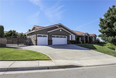 Palmdale Single Family Home For Sale: 40559 55th Street West