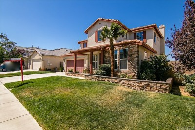 Palmdale Single Family Home For Sale: 4051 Tournament Drive
