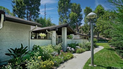 Newhall Condo/Townhouse For Sale: 26322 Oak Highland Drive #B