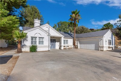 Newhall Single Family Home For Sale: 26252 Friendly Valley