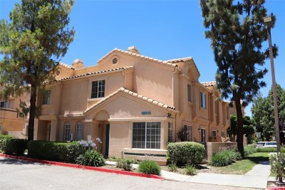 Newhall Condo/Townhouse For Sale: 18842 Vista Del Canon #D