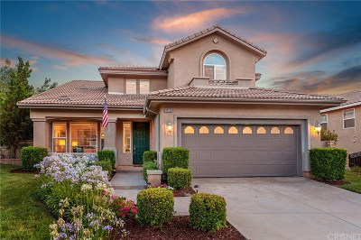 Canyon Country Single Family Home Active Under Contract: 14258 Wrangell Lane