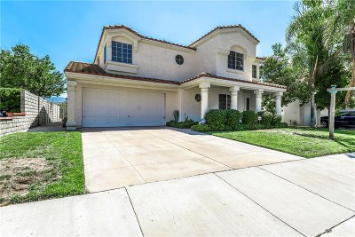 Stevenson Ranch Single Family Home For Sale: 25248 Carson Way