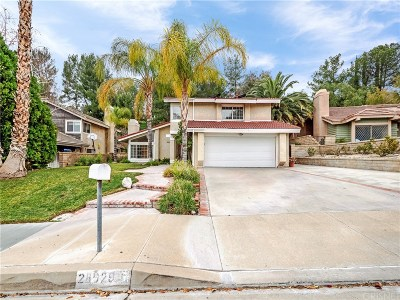 Canyon Country Single Family Home For Sale: 28029 Eagle Peak Avenue