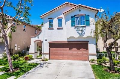 Valencia Single Family Home Active Under Contract: 24133 Tango Drive