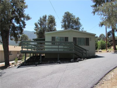 Pine Mountain Club CA Single Family Home For Sale: $219,000