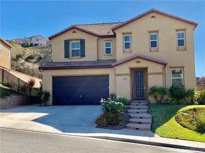 Saugus Single Family Home For Sale: 20526 Cheryl Lane