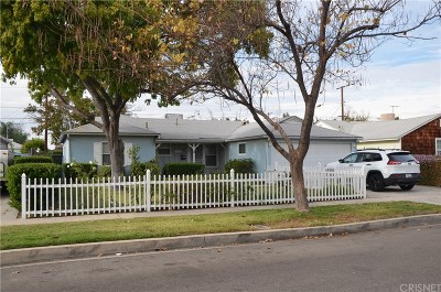 Reseda Single Family Home For Sale: 7031 Tunney Avenue