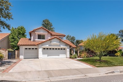 Stevenson Ranch Single Family Home Active Under Contract: 24813 Sagecrest Circle