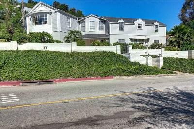 Sherman Oaks Single Family Home For Sale: 4209 Woodcliff Road