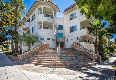 Burbank Condo/Townhouse For Sale: 600 East Magnolia Boulevard #202A