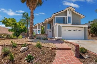 Valencia Single Family Home For Sale: 27835 Palmetto Ridge Drive