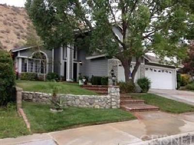 Saugus Single Family Home For Sale: 28771 Kathleen Avenue