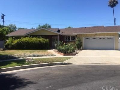 Granada Hills Single Family Home Active Under Contract: 17842 Minnehaha Street