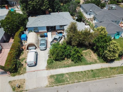 Reseda Single Family Home Active Under Contract: 19123 Strathern Street