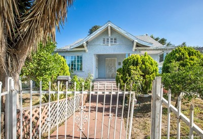Los Angeles Single Family Home For Sale: 1231 West 50th Street