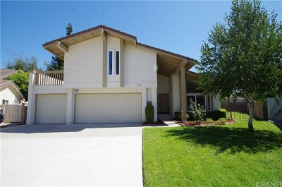 Agoura Hills Single Family Home Active Under Contract: 5572 Jon Dodson Drive