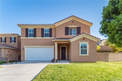 Saugus Single Family Home For Sale: 20546 Brookie Lane
