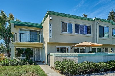 Northridge Condo/Townhouse Active Under Contract: 18504 Mayall Street #E